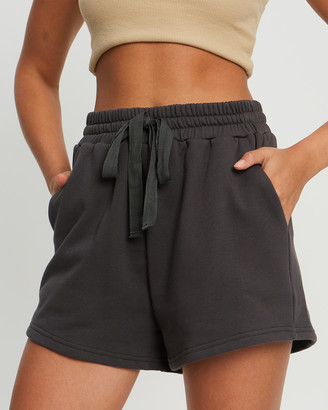Savel - Women's Grey High-Waisted - Essential Shorts - Size One Size, XS at The Iconic