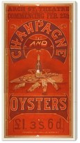Oliver Gal 'Champagne & Oysters' Canvas Print