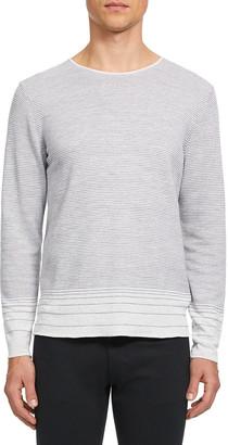 Theory Men's Guinard Degrade Stripe Sweater