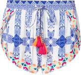 Rococo Sand Tassel Printed Shorts