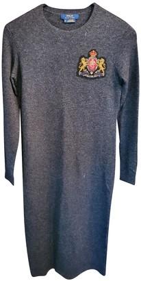 Polo Ralph Lauren Grey Wool Dresses