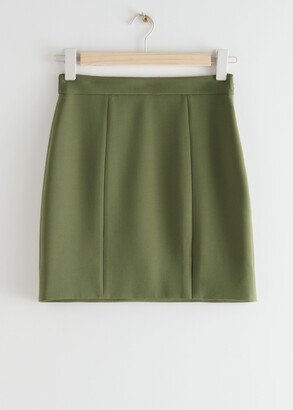 And other stories Tailored Mini Skirt