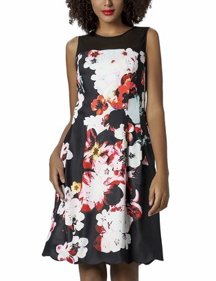 APART Fashion Women's Printed Dress Party