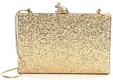Kate Spade Wedding Belles Kissed A Frog Metallic Glitter Clutch