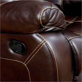 Asstd National Brand Verona Transitonal Faux Leather Club Chair