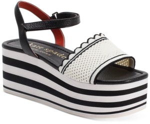 Kate Spade Highrise Spade Wedge Sandals