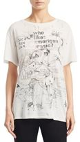 R 13 Doodle Graphic Tee