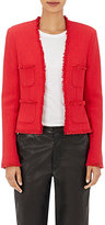 L'Agence Women's Tweed Jules Jacket-RED