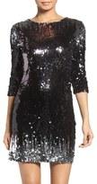 BB Dakota Elise Sequin Body-Con Dress