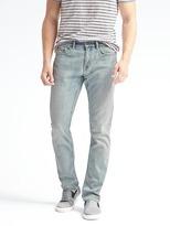 Banana Republic Skinny Rapid Movement Denim Light Wash Jean