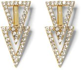 Vince Camuto Triangle Front/Back Earrings