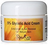 Reviva Labs 5% Glycolic Acid Cream, 1.5 Ounces