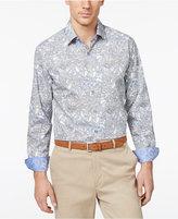 Tasso Elba Men's Barnesio Paisley Shirt, Only at Macy's