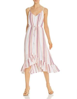 Rails Frida Striped High/Low Dress