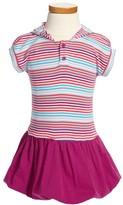 Tea Collection 'Market Stripe' Bubble Dress (Toddler Girls)