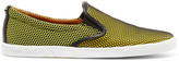 Jimmy Choo Demi mesh and suede slip-on sneakers