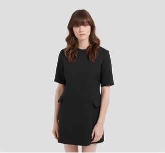 Mulberry Jeanna Dress Black Pique
