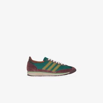 adidas x Wales Bonner green SL72 sneakers