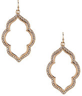 Anna & Ava Pave Drop Earrings