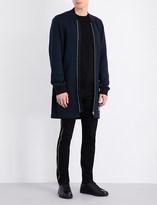 McQ by Alexander McQueen Longline wool coat