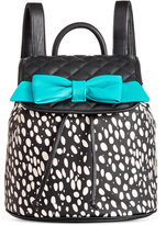 Betsey Johnson Bow Flapover Backpack