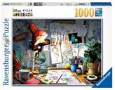 Disney Pixar The Artist's Desk 1000pc Puzzle