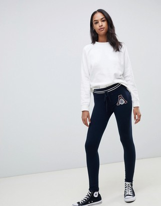 Abercrombie & Fitch logo skinny jogger