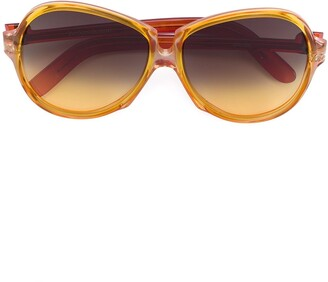 Yves Saint Laurent Pre-Owned Ombre Oversized Sunglasses