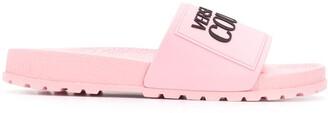 Versace logo embellished sliders