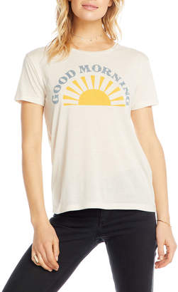 Chaser Good Morning Graphic Tee