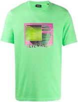 Diesel T-JUST-NEON-S1 graphic print T-shirt