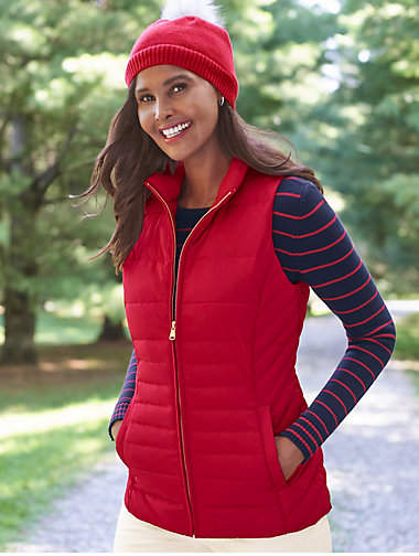 Thumbnail for your product : Talbots Down Puffer Vest