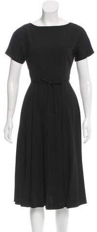 Tome Short Sleeve Midi Dress