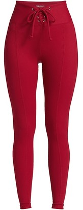 YEAR OF OURS Ribbed Corset Leggings
