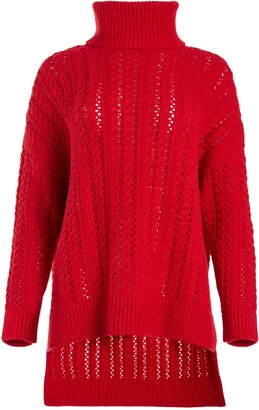 Alice + Olivia Sawyer Turtleneck Pullover