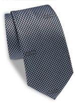 Moschino Textured Silk Tie