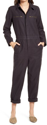 Madewell Women's Zip Pocket Coverall Jumpsuit