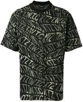 Kokon To Zai camouflage logo print T-shirt