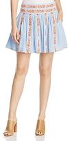 Tory Burch Alexandria Embellished Mini Skirt