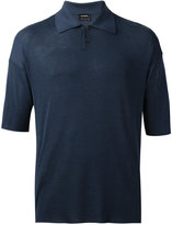 Jil Sander short sleeve polo shirt - men - Silk - 46