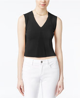 Rachel Roy V-Neck Crop Top, Only at Macy's