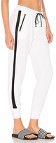 Vimmia Unwind Rib City Pant in White. - size XS (also in )