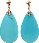 Lucifer Vir Honestus Turquoise Parrucchino Earrings