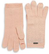 Calvin Klein Stud Accented Touch Glove