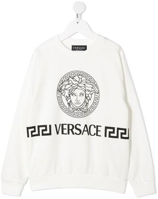 Versace Kids Medusa head-print T-shirt