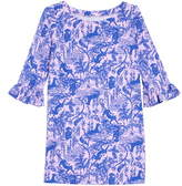 Lilly Pulitzer R) Mini Sophie UPF 50+ Ruffle Dress