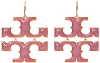 Tory Burch Transparent Drop Earring