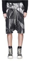 Rick Owens 'Pod' drop crotch shorts