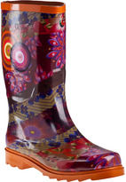 Desigual Azafran Rain Boot Orange Rubber