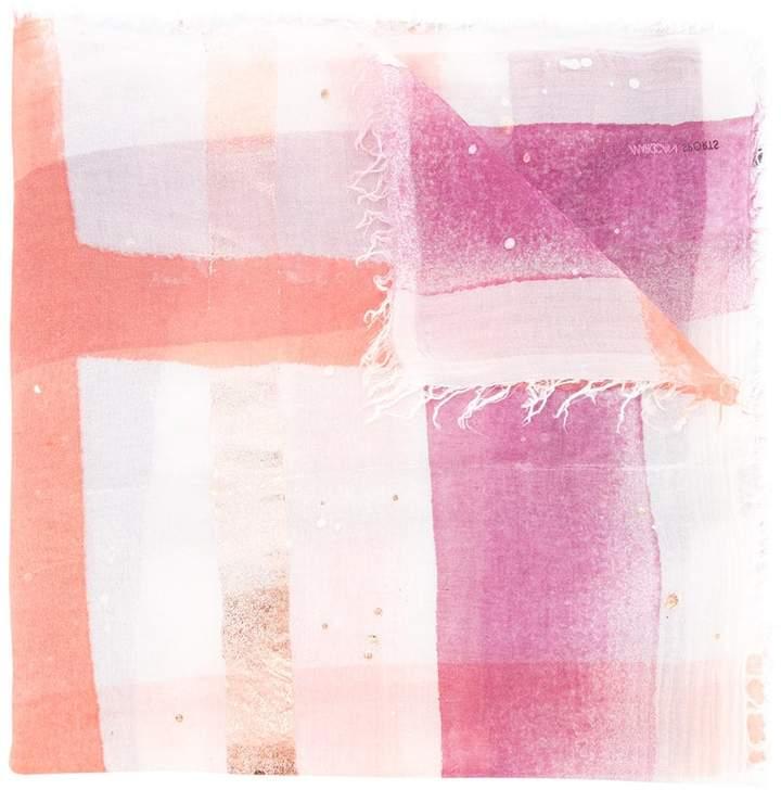 Marc Cain watercolour print scarf